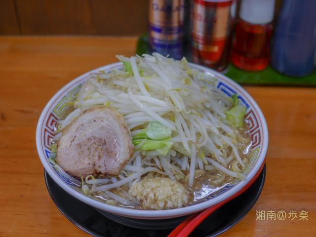 登夢道めん(中)野菜ニンニク増し@730円