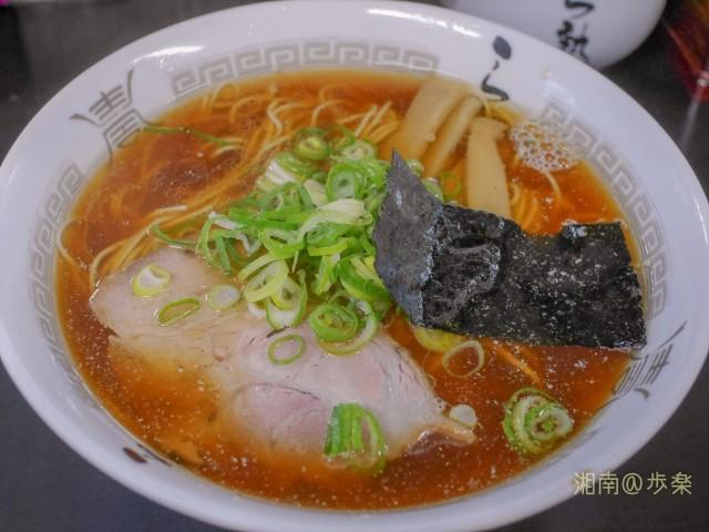 醤油風味とスープの量が多いため、中弛みは出てくる