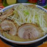 みそめん(中)@730円 野菜増し ニンニク