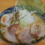 濃い目の鶏出汁味噌スープ