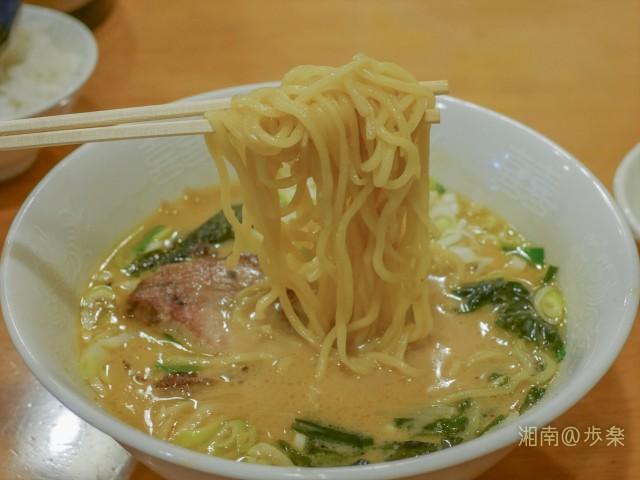 中太ストレート玉子麺も定番