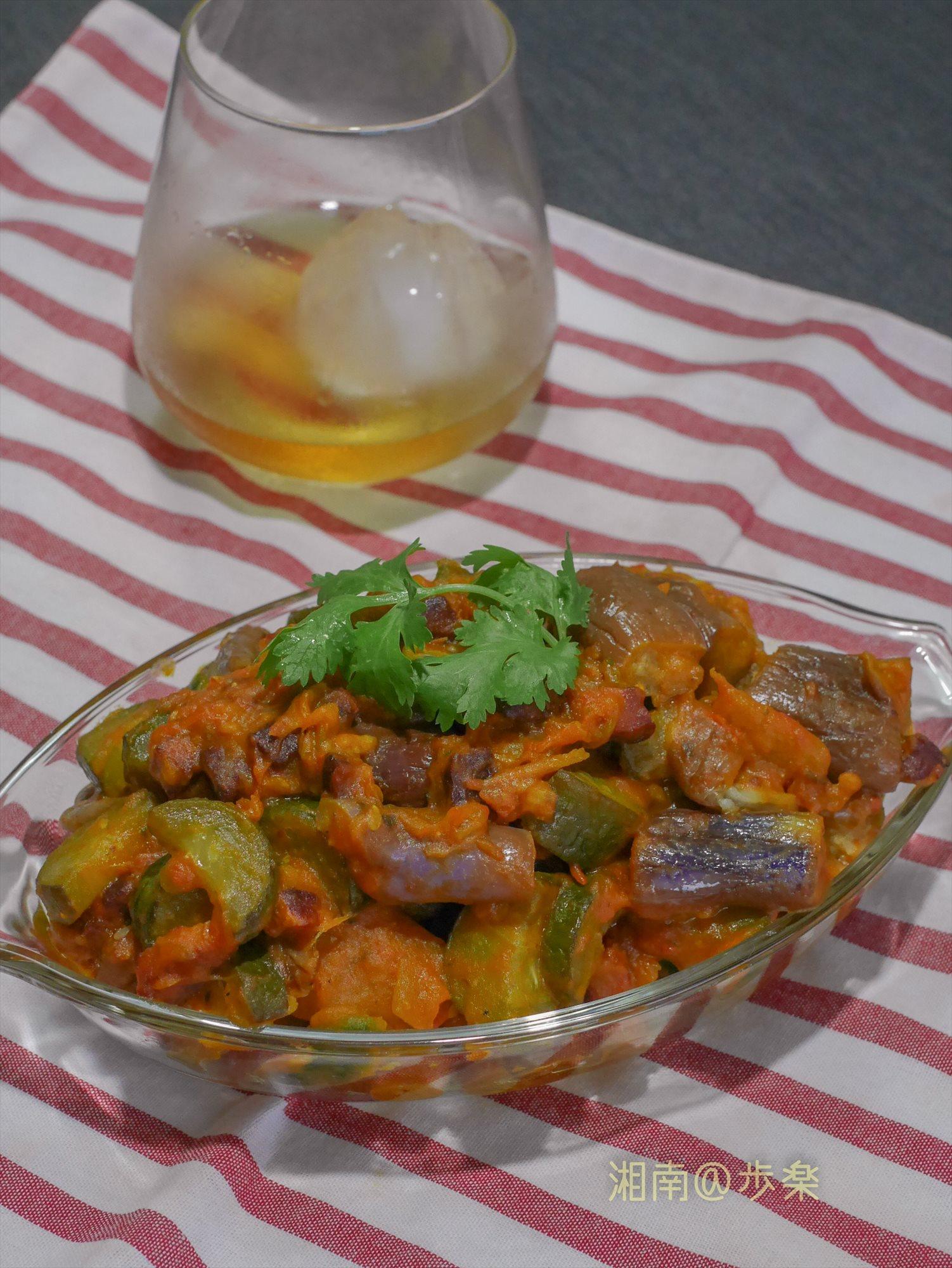 茄子、トマト・ズッキーニにカボチャの旨味が凝縮!