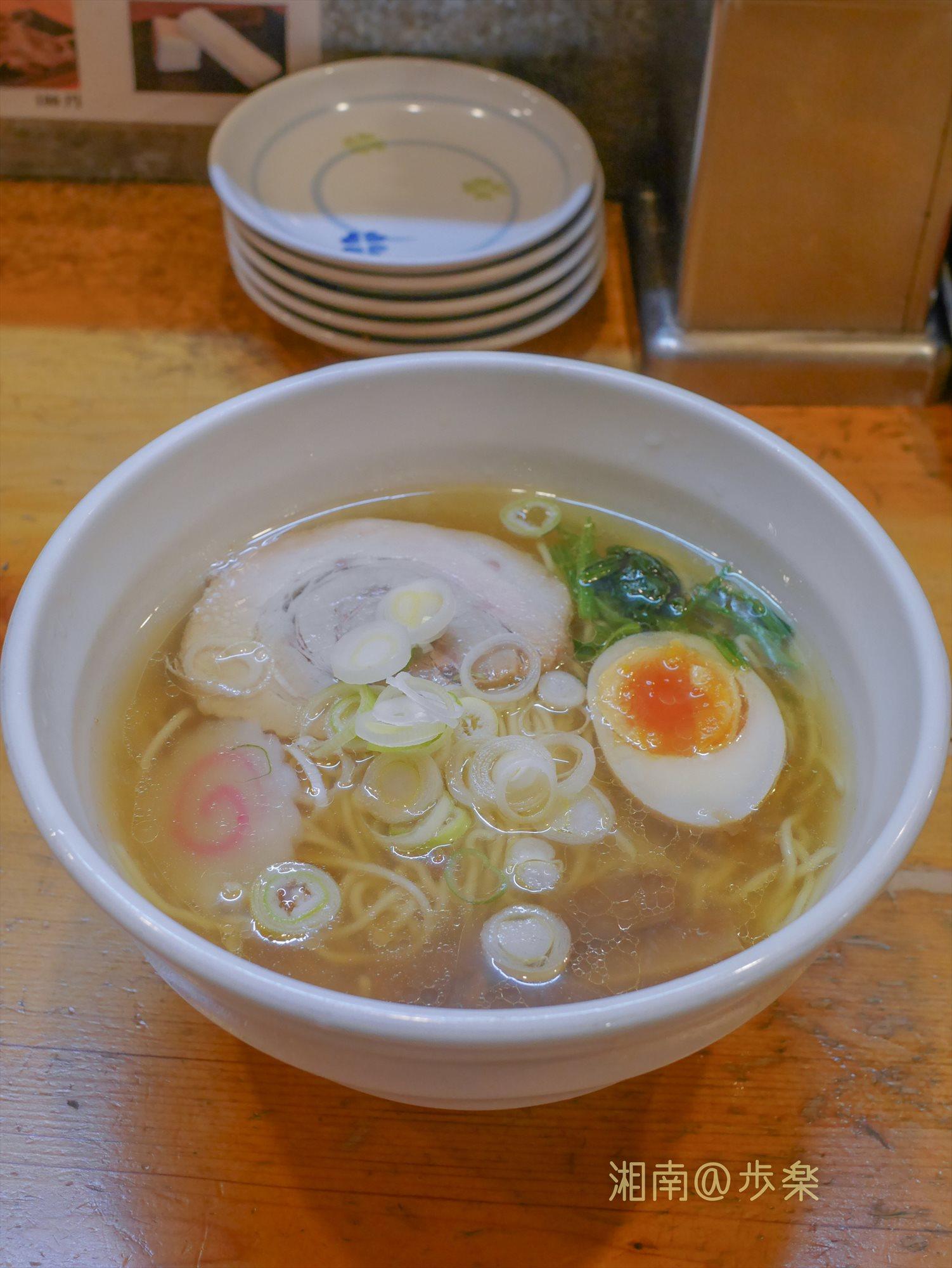 スープを一口飲んでみる・・・