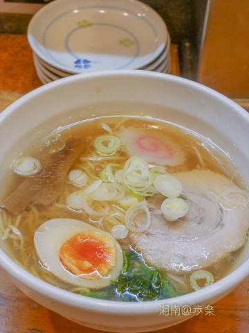 きりっと薄口醤油が映えるスープ