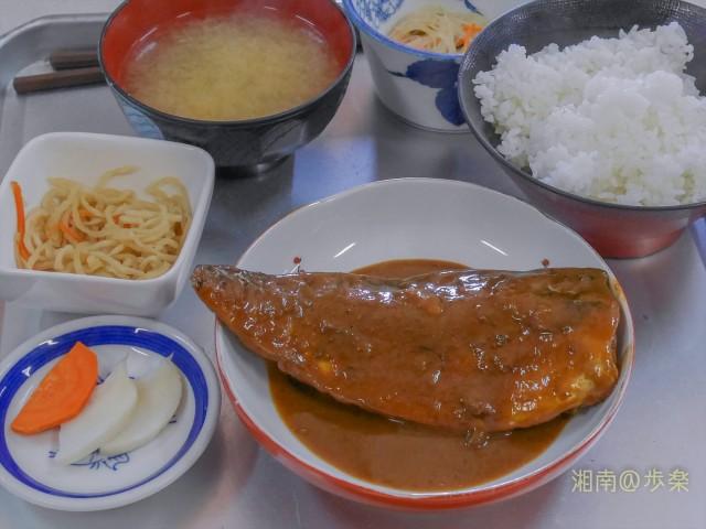 サバみそ煮定食@700
